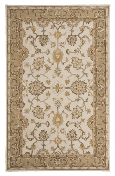 Jinx Casual Gold Fabric Hand Tufted Large Rug R401631