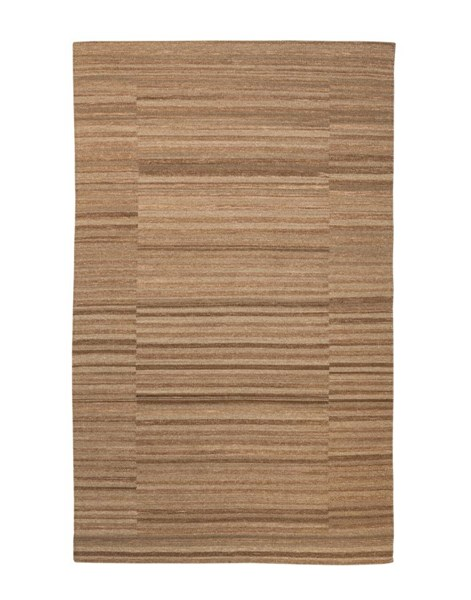 Flatweave Transitional Taupe Fabric Rugs R4017-RUG-VAR