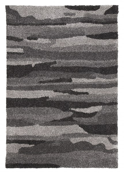 Pasternak Contemporary Charcoal Fabric Rugs R40180-RUG-VAR