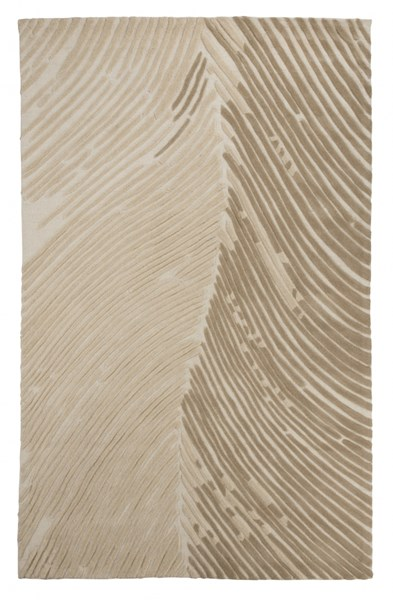 Wave Hill Contemporary Alabaster Fabric Large Rug R401811