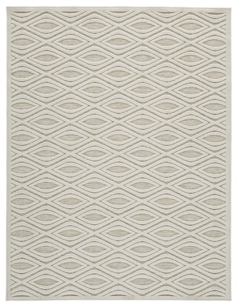 Ashley Furniture Kylea Beige Rugs R40446-RUG-VAR