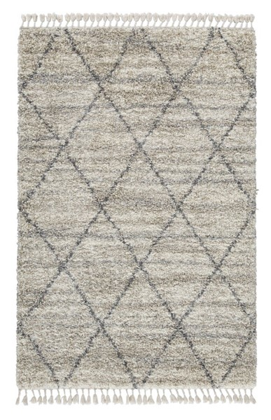 Ashley Furniture Abdalah Gray Cream Rugs R40462-RUG-VAR