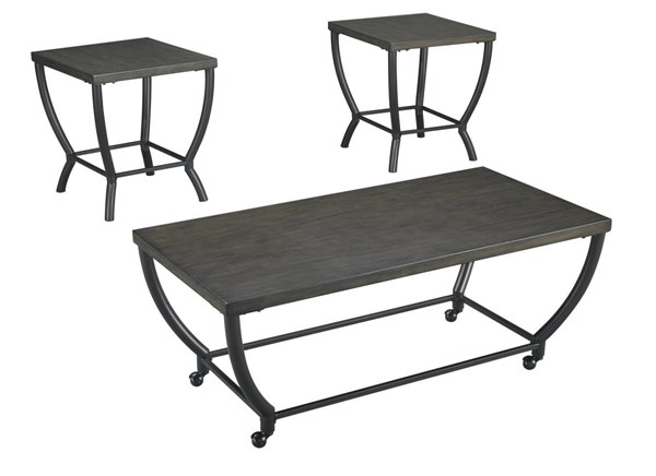 Ashley Furniture Champori 3pc Occasional Table Set T048-13