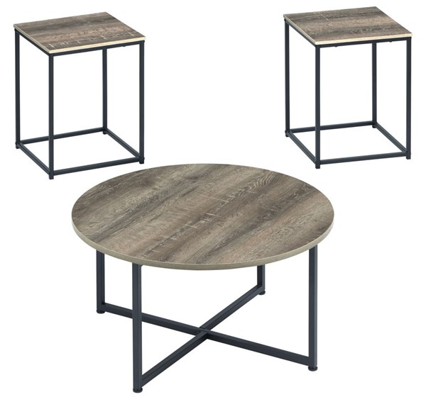 Ashley Furniture Wadeworth Two Tone Occasional Table Set T103-213