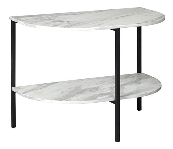Ashley Furniture Donnesta Gray Black Chair Side End Table T182-7