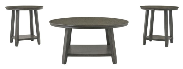 Ashley Furniture Caitbrook Gray 3pc Occasional Table Set T188-13