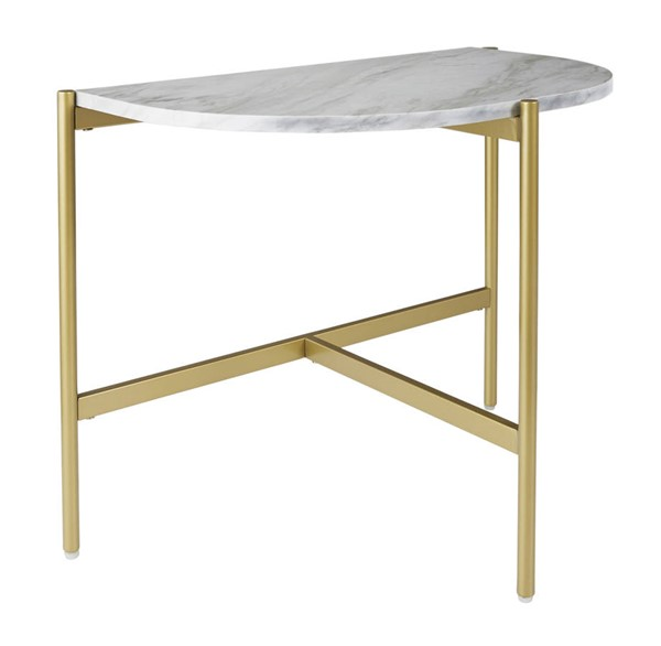 Ashley Furniture Wynora White Gold Chair Side End Table T192-7