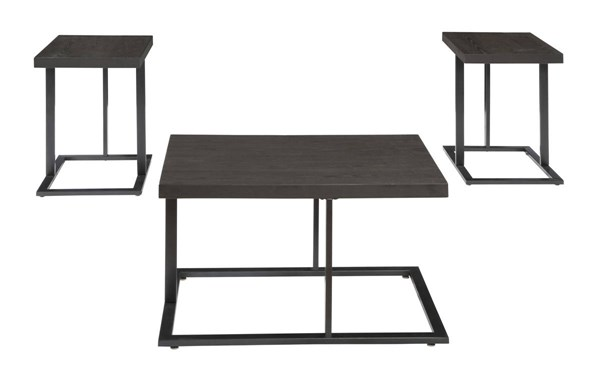 Airdon Urbanology Gray Occasional Table Set (3/CN) T194-13