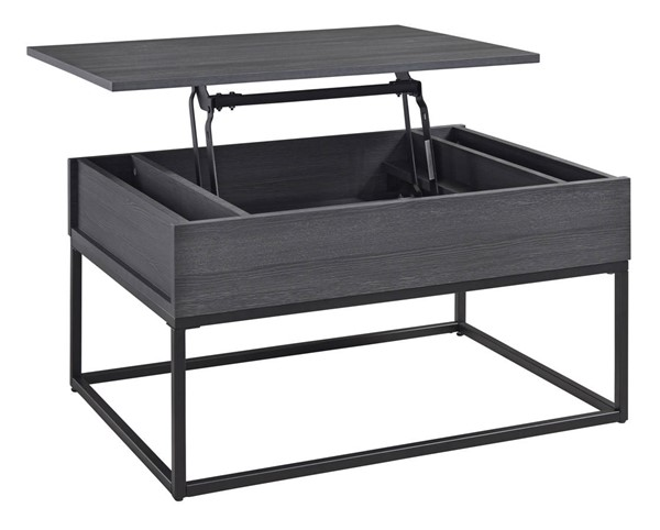 Ashley Furniture Yarlow Black Lift Top Cocktail Table T215-9