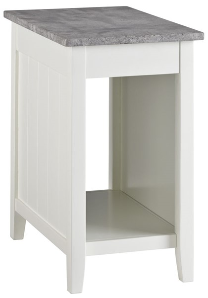 Ashley Furniture Diamenton White Chair Side End Table T217-371