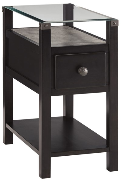 Ashley Furniture Diamenton Almost Black Chair Side End Table T217-771