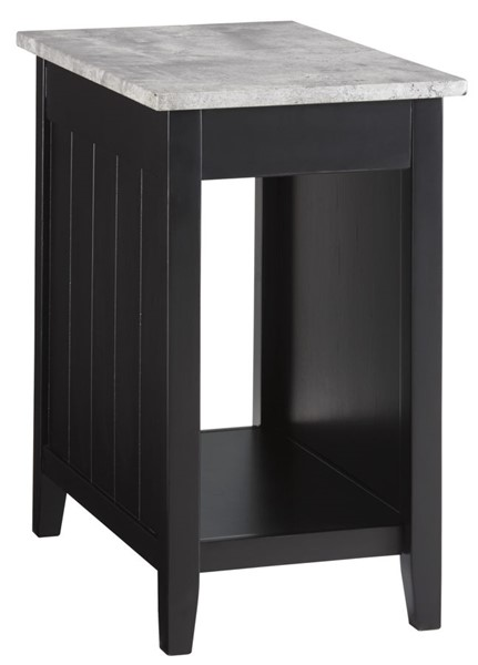 Ashely Furniture Diamenton Black Chair Side End Table T217-811