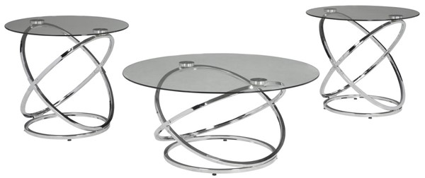 Hollynyx 3pc Occasional Table Set T270-13
