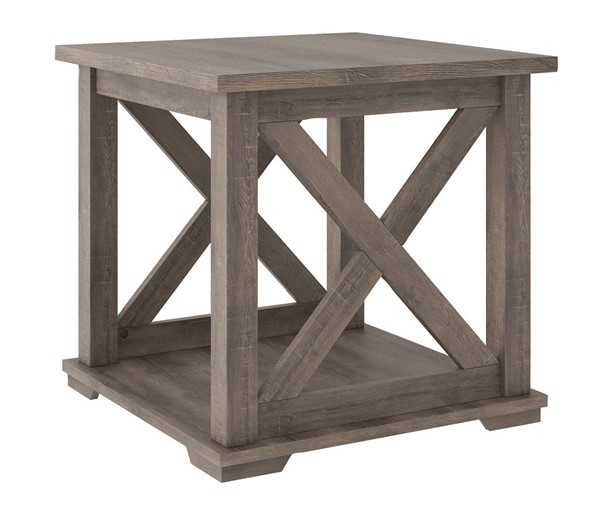 Ashley Furniture Arlenbry Gray Square End Table T275-2