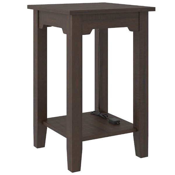 Ashley Furniture Camiburg Warm Brown Chair Side End Table T283-7
