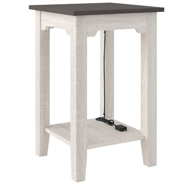 Ashley Furniture Dorrinson Two Tone Chair Side End Table T287-7