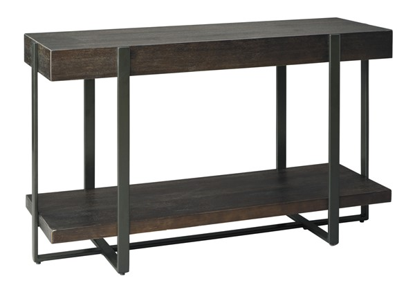 Ashley Furniture Drewing Light Brown Sofa Table T321-4