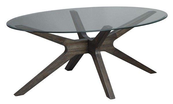 Ashley Furniture Zannory Oval Cocktail Table T348-0