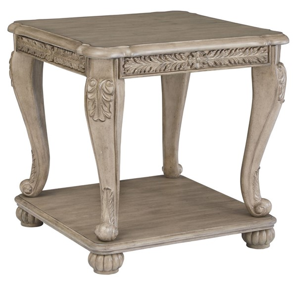 Ashley Furniture Kerston Light Brown Square End Table T373-2
