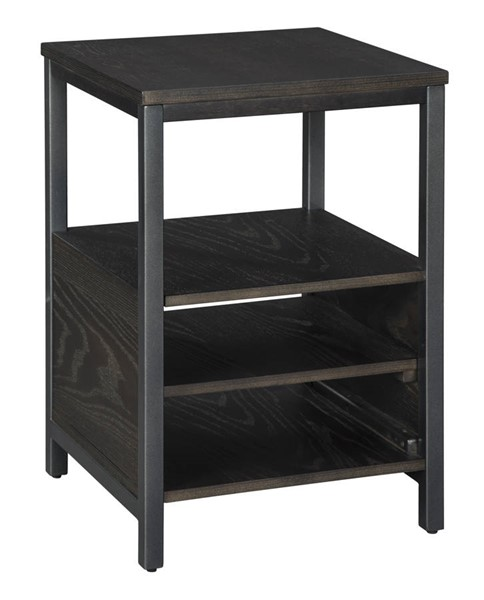 Ashley Furniture Airdon Gray Chair Side End Table T394-7