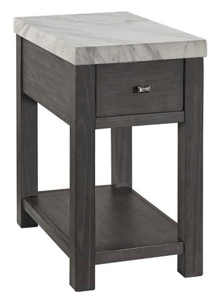 Ashley Furniture Vineburg White Gray Chair Side End Table T450-7