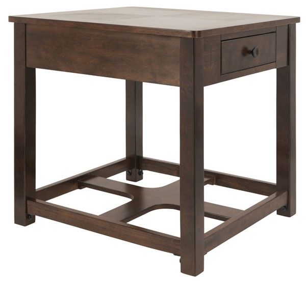 Ashley Furniture Marion Dark Brown End Table T477-3