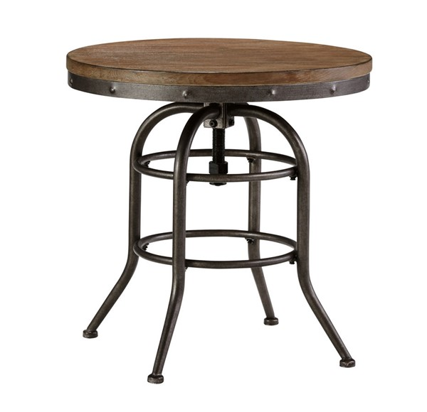 Ashley Furniture Vennilux Round End Table T500-726