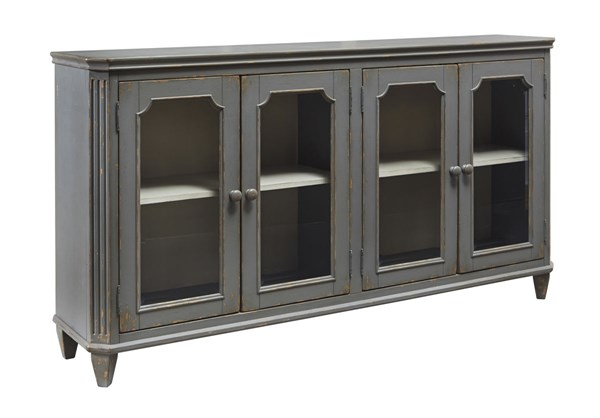 Ashley Furniture Mirimyn Antique Gray Door Accent Cabinet T505-662