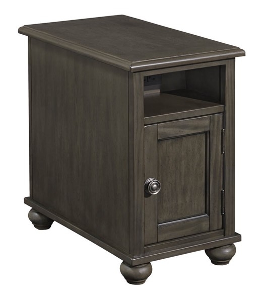 Ashley Furniture Devensted Dark Gray Chair Side End Table T534-7
