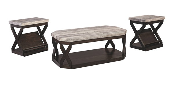 Ashley Furniture Radilyn 3pc Occasional Table Set T568-13