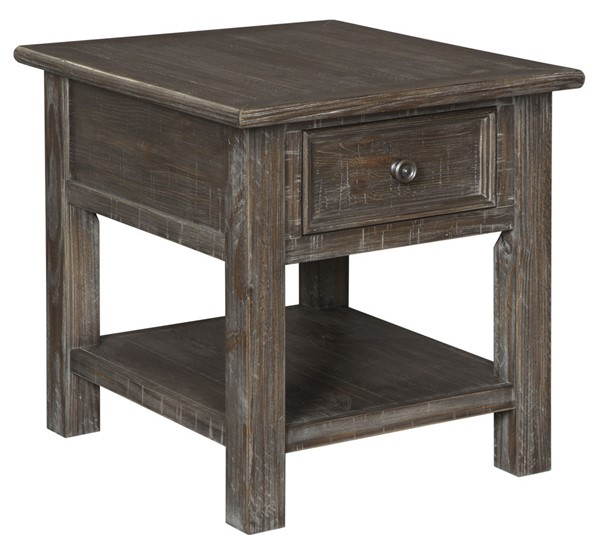 Ashley Furniture Wyndahl Rustic Brown End Table T648-3