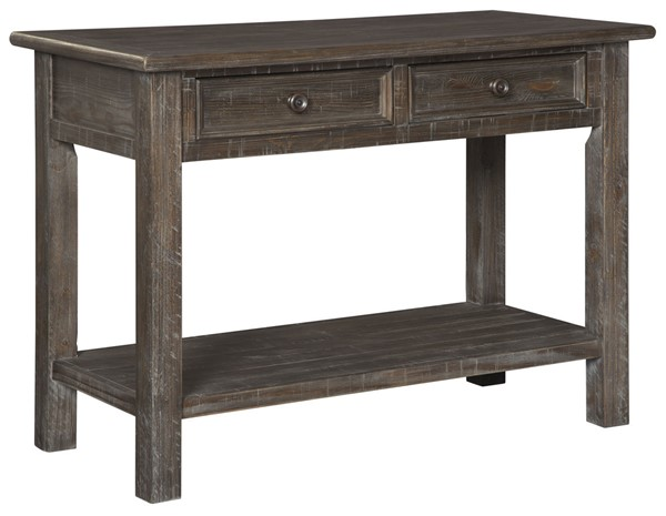 Ashley Furniture Wyndahl Rustic Brown Sofa Table T648-4