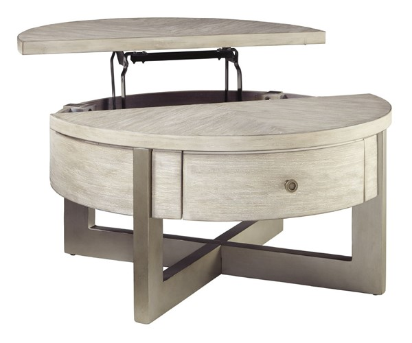 Ashley Furniture Urlander Round Lift Top Cocktail Table T673-8