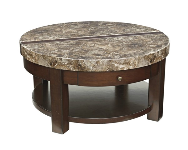 Ashley Furniture Kraleene Round Lift Top Cocktail Table T687-8