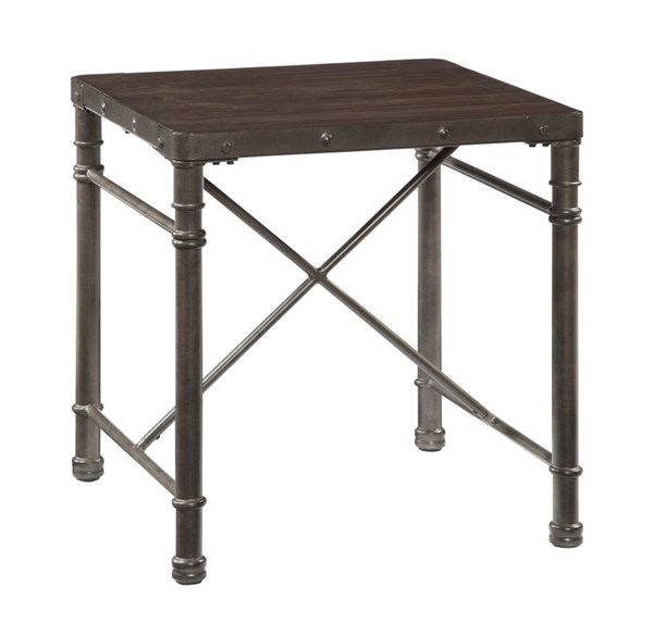 Tremile Urbanology Dark Brown Square End Table T698-2