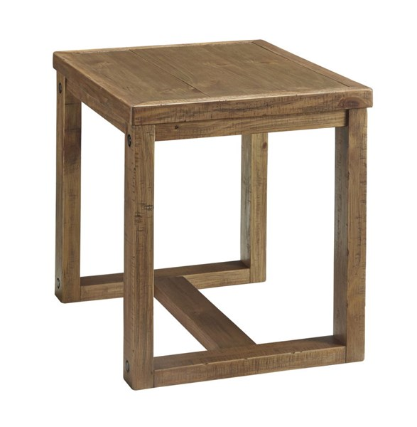 Tamilo Vintage Casual Grayish Brown Chair Side End Table T715-7