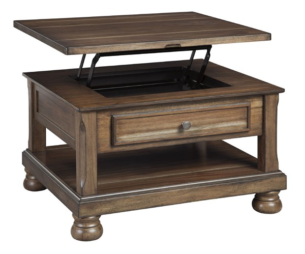 Ashley Furniture Flynnter Rectangle Lift Top Cocktail Table T716-0