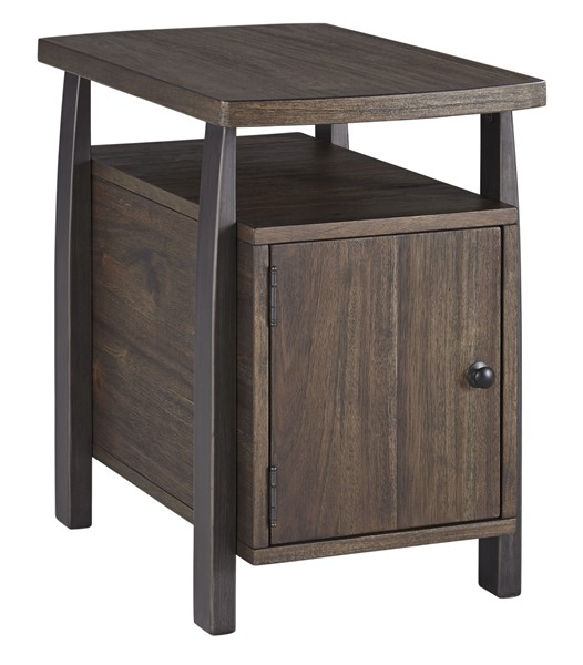 Ashley Furniture Vailbry Brown Chair Side End Table T758-7