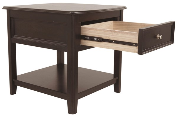Ashley Furniture Carlyle Wood End Table T771-3