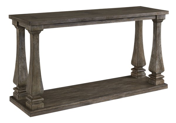 Ashley Furniture Johnelle Gray Sofa Table T776-4