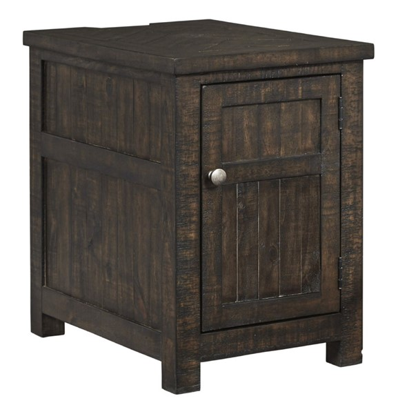 Ashley Furniture Hillcott Rustic Brown Chair Side End Table T798-7