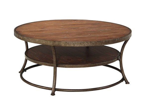 Ashley Furniture Nartina Round Cocktail Table T805-8
