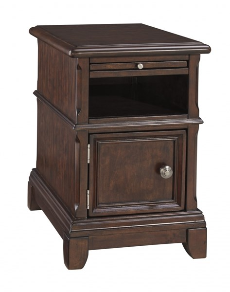 Lavidor Traditional Classics Chocolate Wood Chair Side End Table T809-7