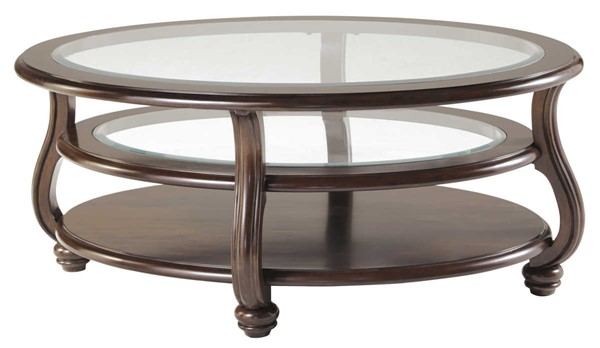 Ashley Furniture Yexenburg Oval Cocktail Table T819-0