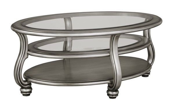 Ashley Furniture Coralayne Oval Cocktail Table T820-0