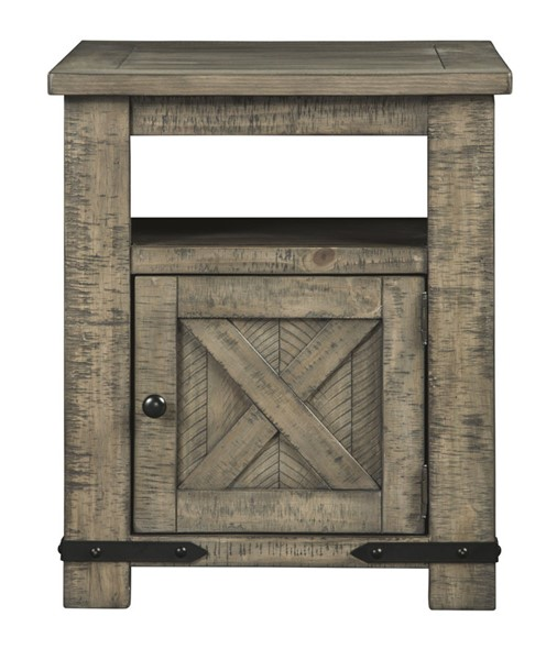 Ashley Furniture Aldwin Gray Rectangle End Table T837-3