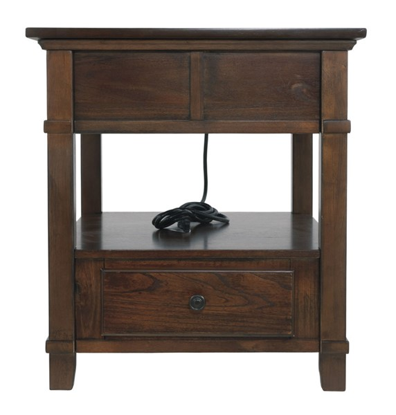 Ashley Furniture Gately Brown End Table T845-3