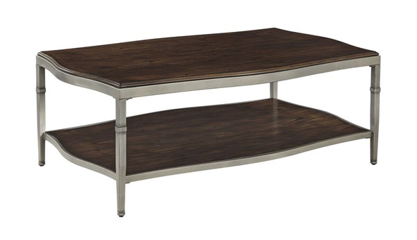 Lavidor Traditional Classics Brown Rectangular Cocktail Table T865-1