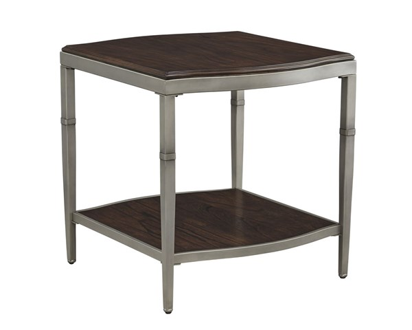 Lavidor Traditional Classics Brown Rectangular End Table T865-3