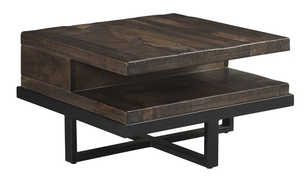 Vendol Urbanology Two Tone Square Cocktail Table T886-8
